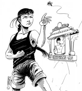 Kung-Fu Sofsof contre les moustiques