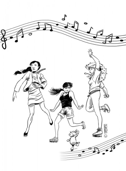 Sofsof danse avec les reines de Zadar