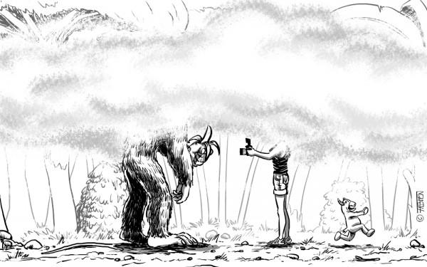 Sofsof et un gorille des montagnes