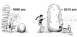Sofsof amoureuse d'une patate géante